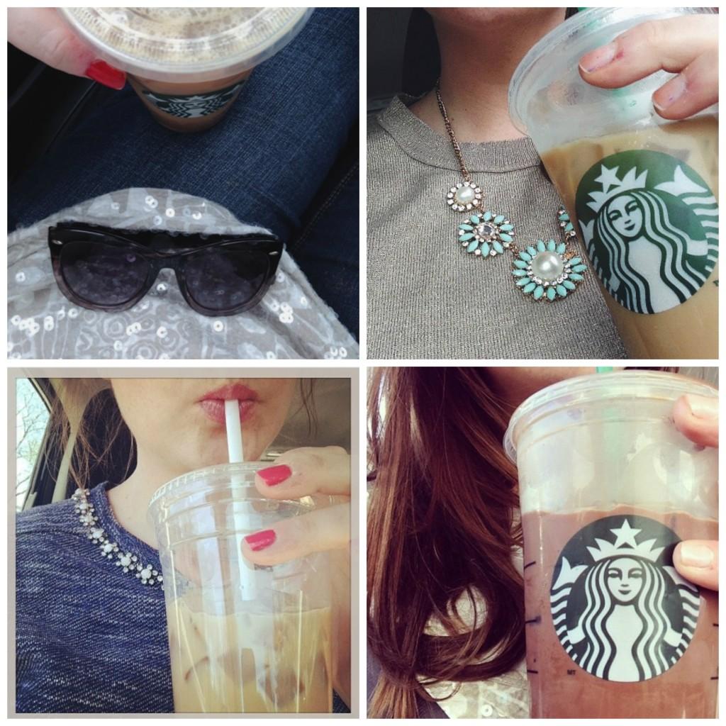 Starbucks Skinny Vanilla Lattes