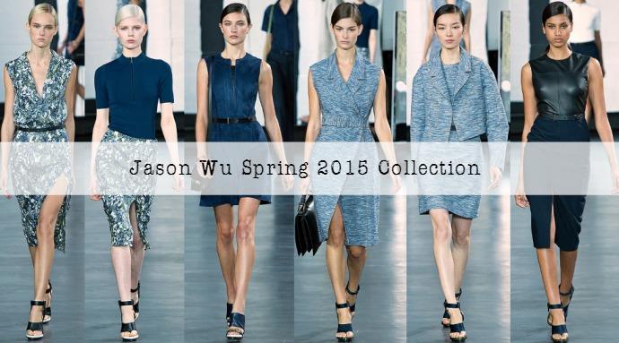 Jason Wu Spring 2015 Collection at New York Fashion Week