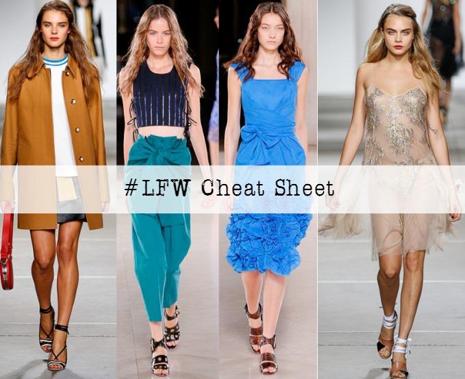 London Fashion Week Cheat Sheet