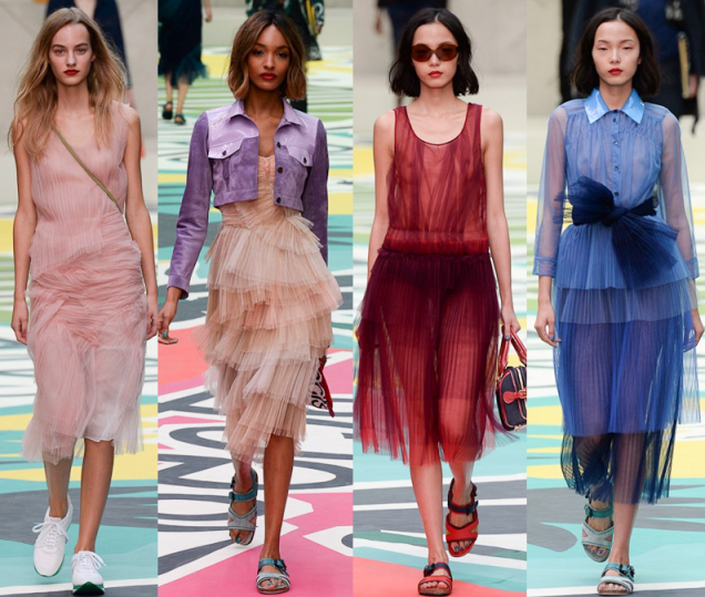 Burberry Spring 2015 RTW Collection at London Fashion WeekBurberry Spring 2015 RTW Collection at London Fashion Week