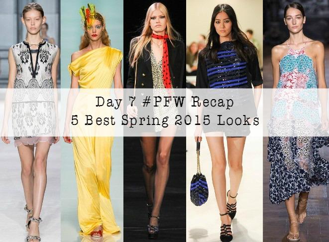 Day 7 of Paris Fashion Week recap
