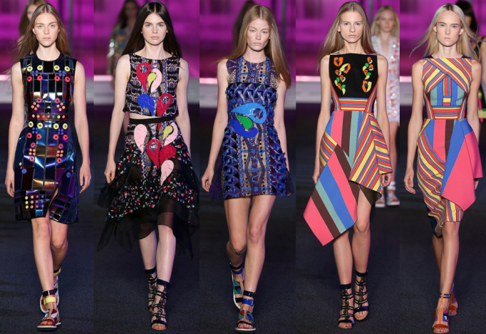 Top 5 Best Looks of Peter Pilotto Spring 2015 RTW Collection at London Fashion Week