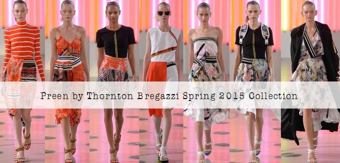 Preen by Thornton Bregazzi Spring 2015 RTW at London Fashion Week