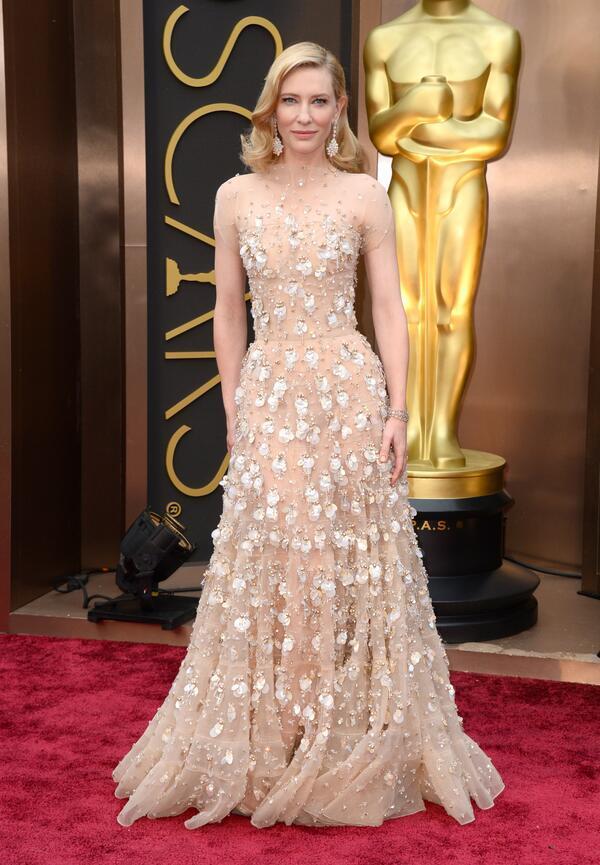 Cate Blanchett Armani Prive - 2014 Best Fashion Moment