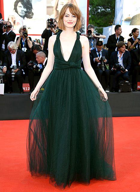 Emma Stone in Valentino - 2014 Best Fashion Moment