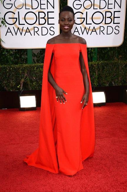 Lupita Nyong'o Ralph Lauren - Best Fashion Moment 2014