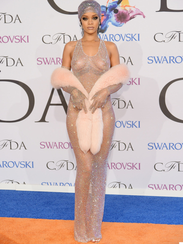 Rhianna Adam Selman - Best Fashion Moment 2014
