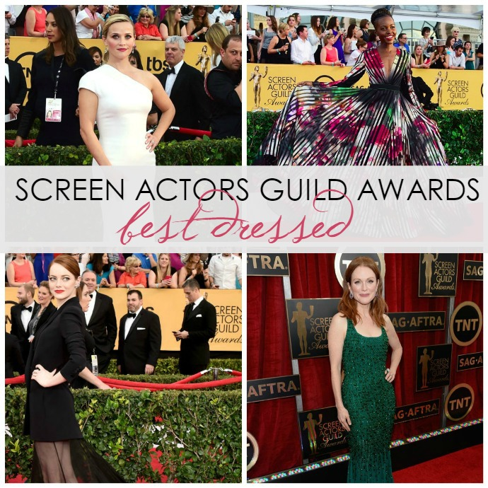 10 Best Dressed of the 2015 Screen Actors Guild Awards