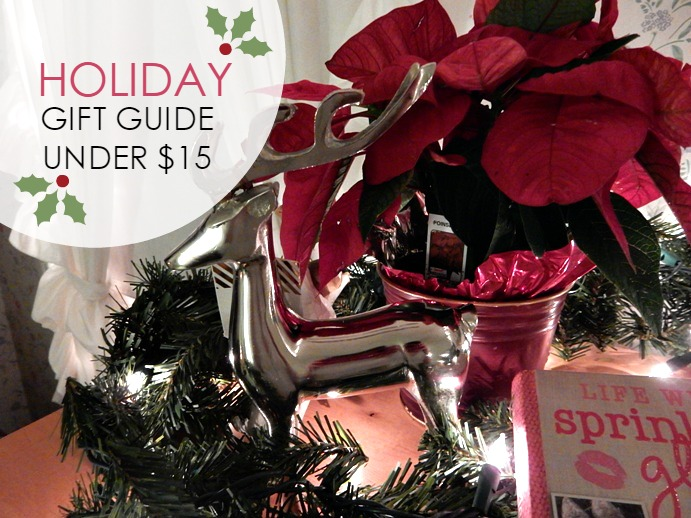 Holiday Gift Ideas Under $15 - Dream in Lace