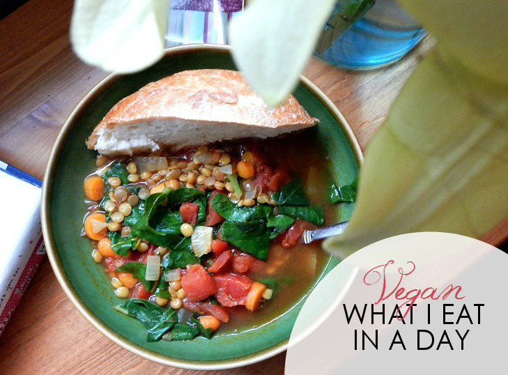 What I Eat in a Day, Vegan Style
