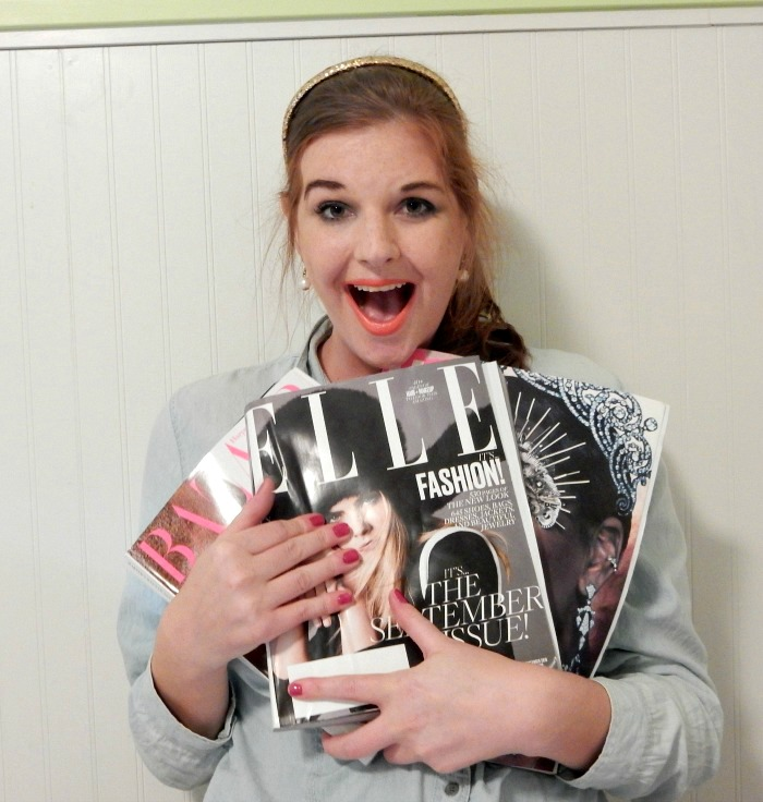 Judging Fashion Magazine September Issue Covers - Dream in Lace
