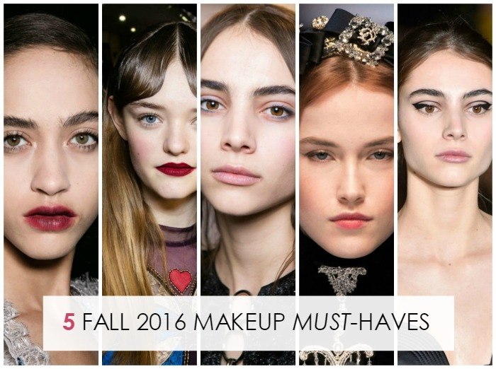 5 Fall 2016 Must-Have Makeup Products