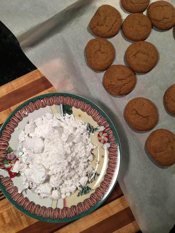 My Recipe for Vegan Christmas Cookies with Molasses and Spice - Dream in Lace