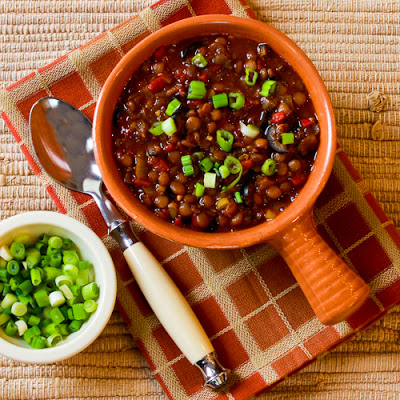 Vegan Lentil Chili - Kaylin Kitchen