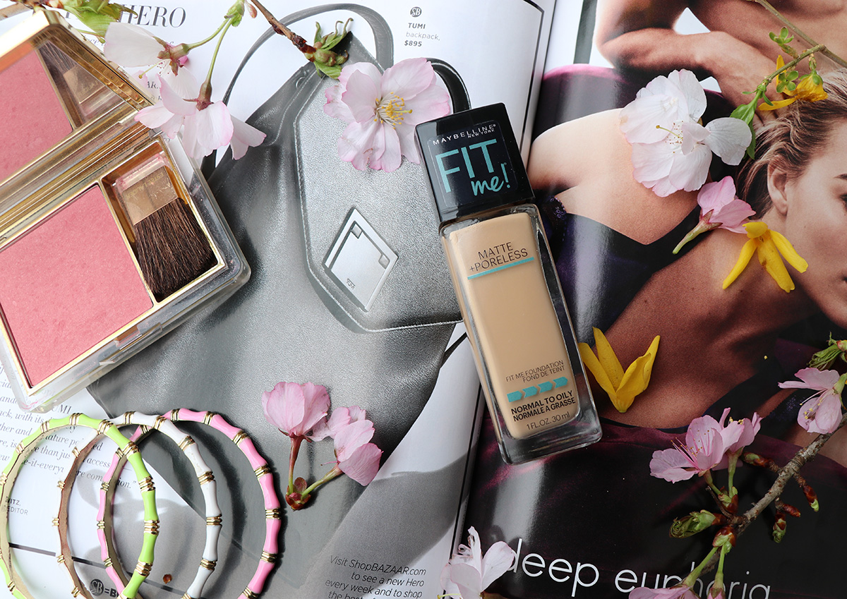 Maybelline Fit Me Foundation Review - Dream in Lace
