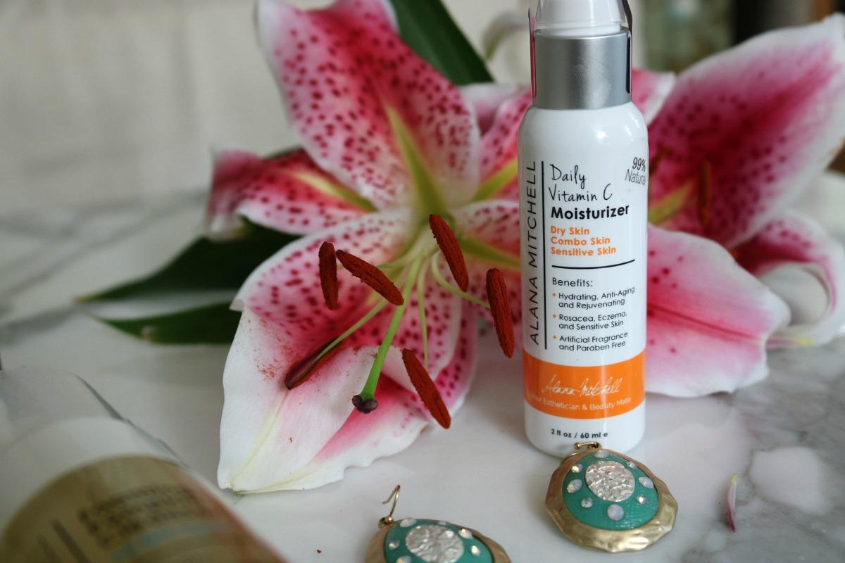 Alana Mitchell Skincare Vitamin C Moisturizer I DreaminLace.com