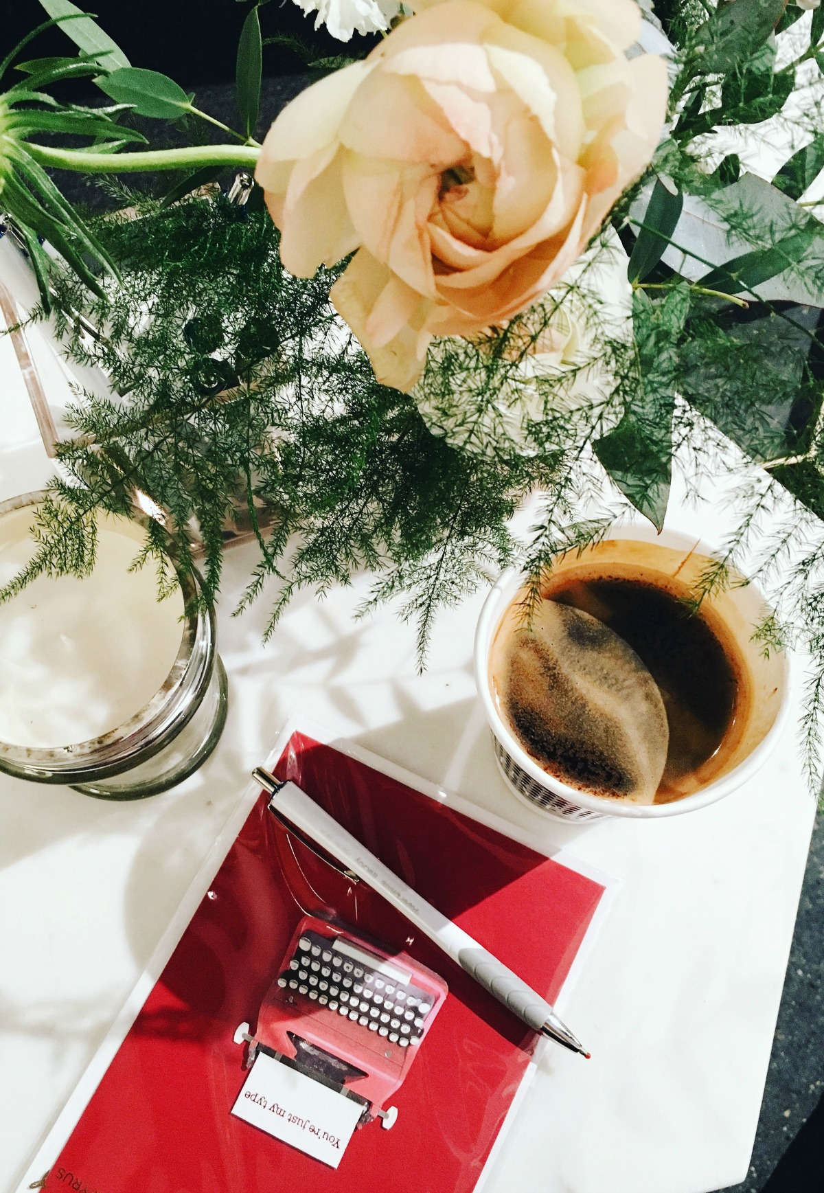 February Wrap-Up I Papyrus Valentines and Coffee at NYFW Pop-up