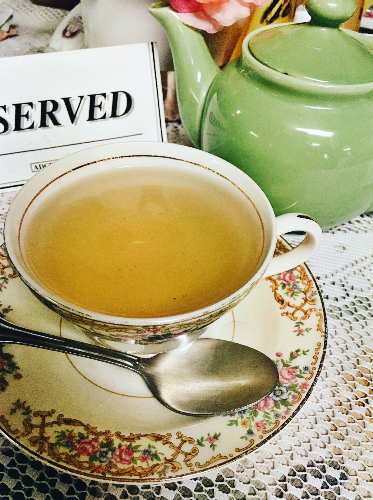 February Wrap-Up I Sally Lunn's Tea Room in New Jersey
