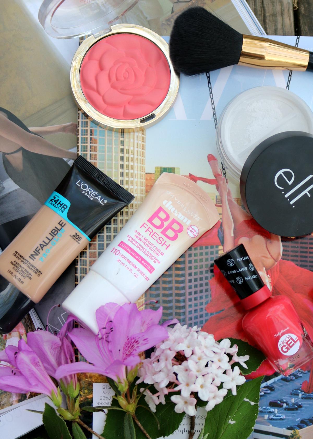Most Popular Blog Posts of 2018 I Spring Drugstore Makeup Favorites I DreaminLace.com #SpringMakeup #Makeup