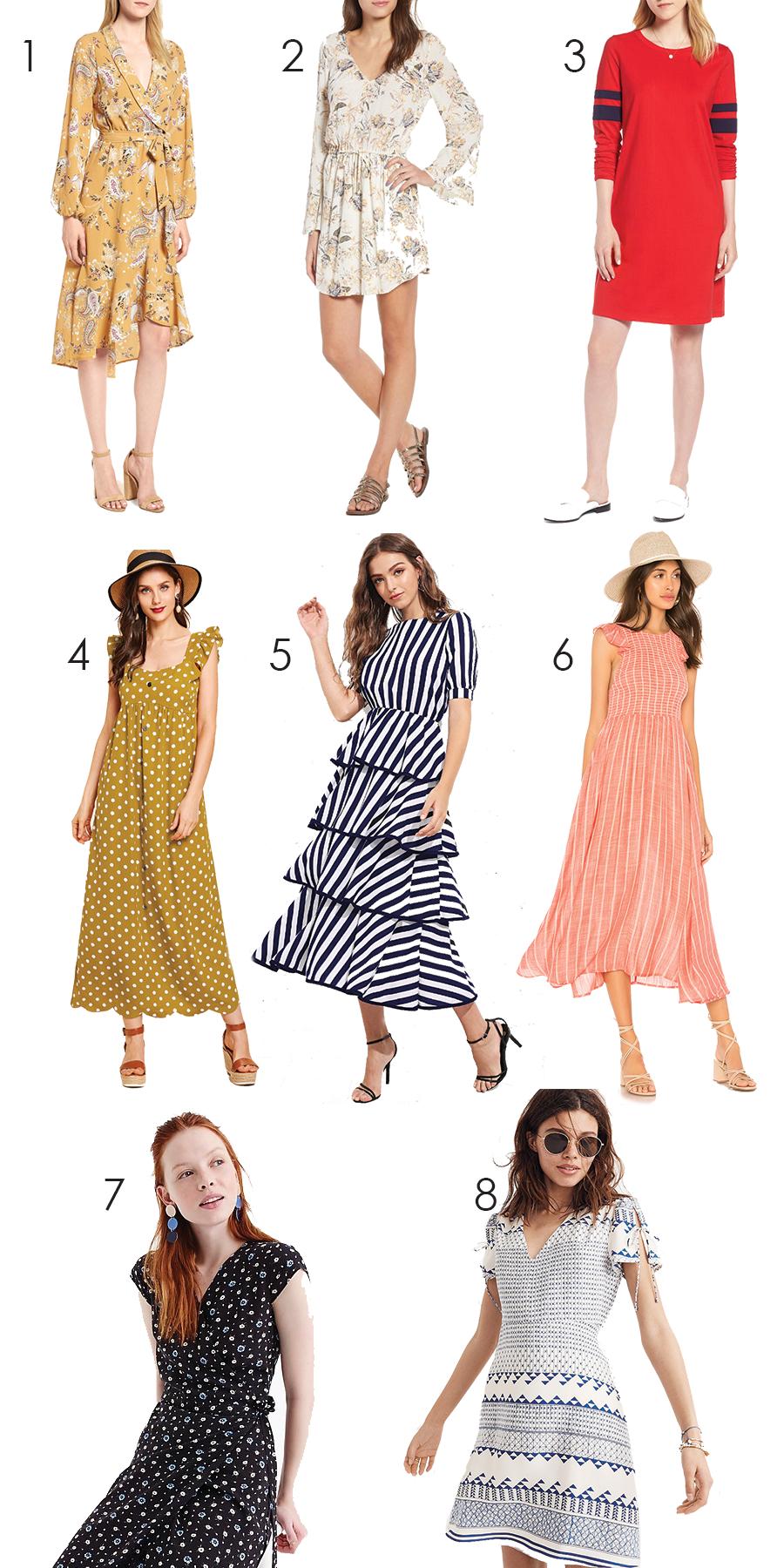 Summer Sundresses Under $100 I DreaminLace.com #SummerStyle #Fashionista #Style
