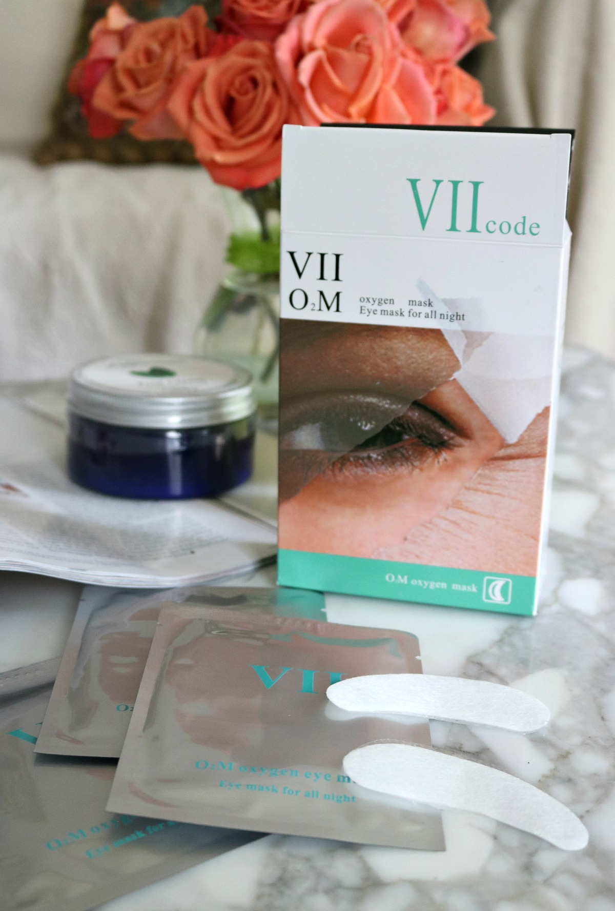 VIIcode Eye Masks help you beautify your eyes overnight. #Skincare #VIIcode