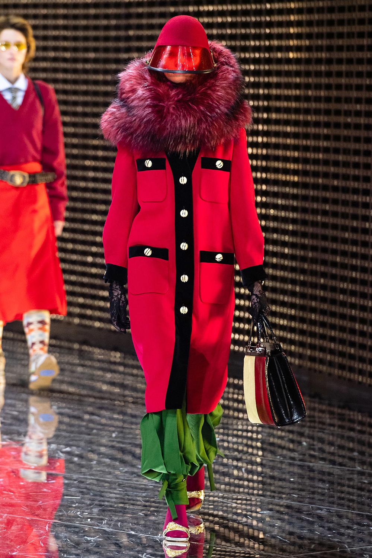 Best Milan Fashion Week Looks I Gucci Fall 2019 Runway #Gucci #FashionWeek #HighFashion #MFW