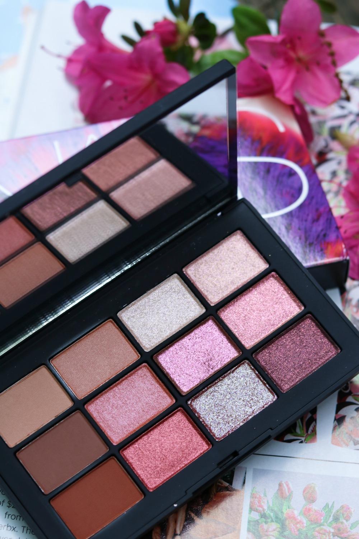 NARS Ignited Eyeshadow Palette I DreaminLace.com #NARS #MakeupLove #BeautyTips