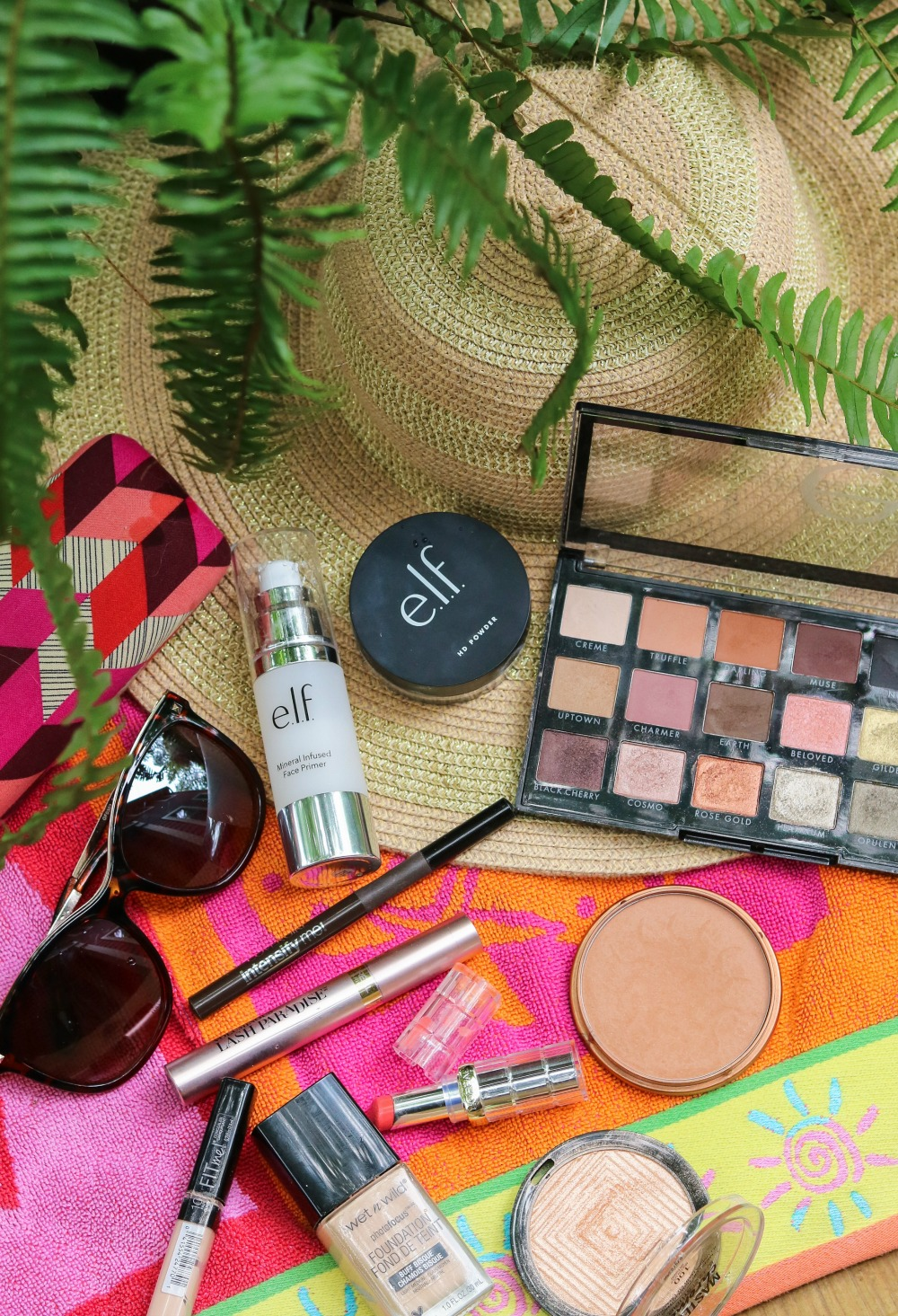 Summer Drugstore Makeup Tutorial I ELF Cosmetics, Loreal, Rimmel and Wet n Wild #summermakeup #makeuptutorial #beautyblogger #makeup