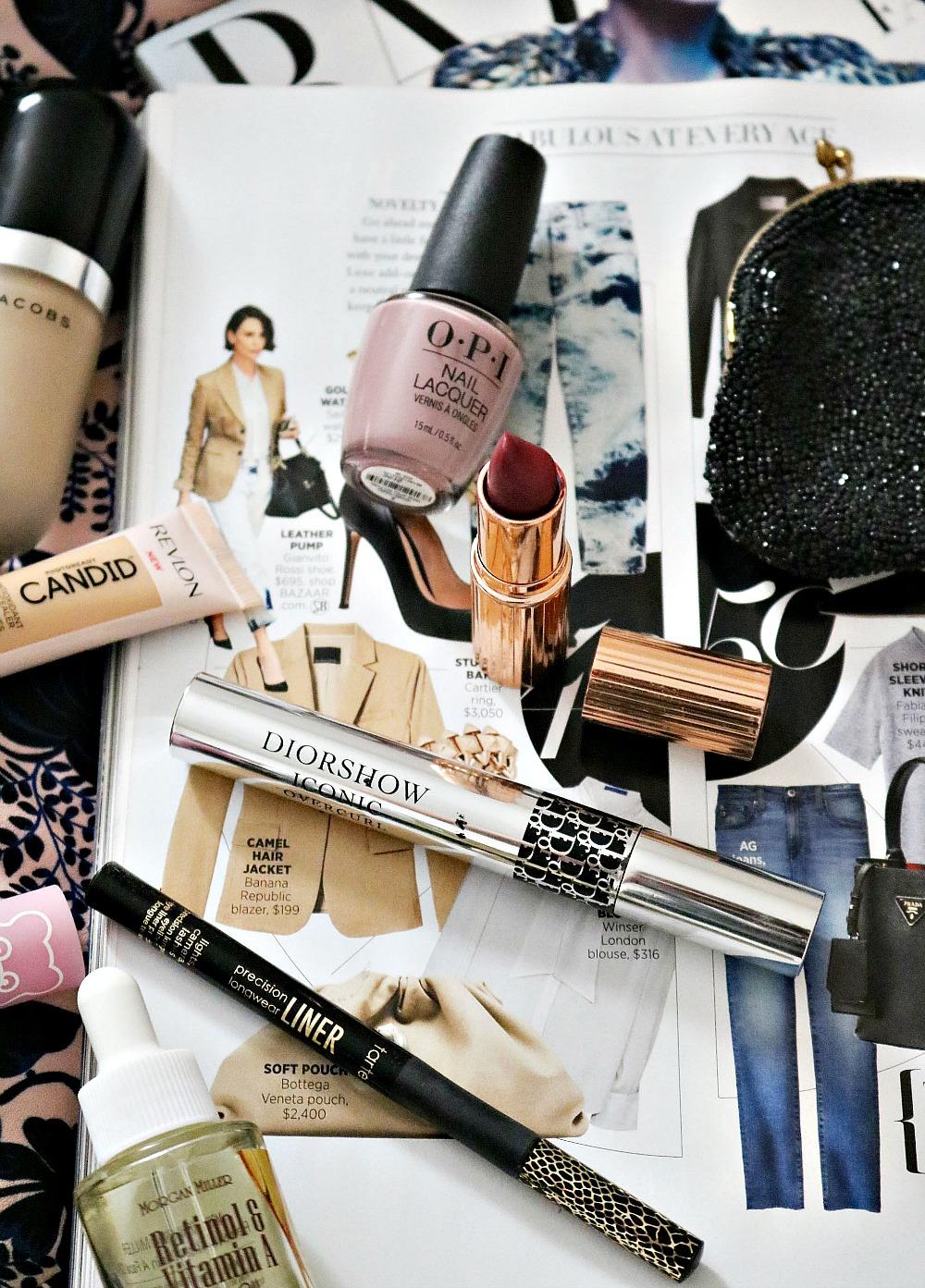 Early Fall Beauty Favorites I Dior Mascara, Charlotte Tilbury Lipstick, Tarte Eyeliner #fallmakeup #makeup #beautyblog