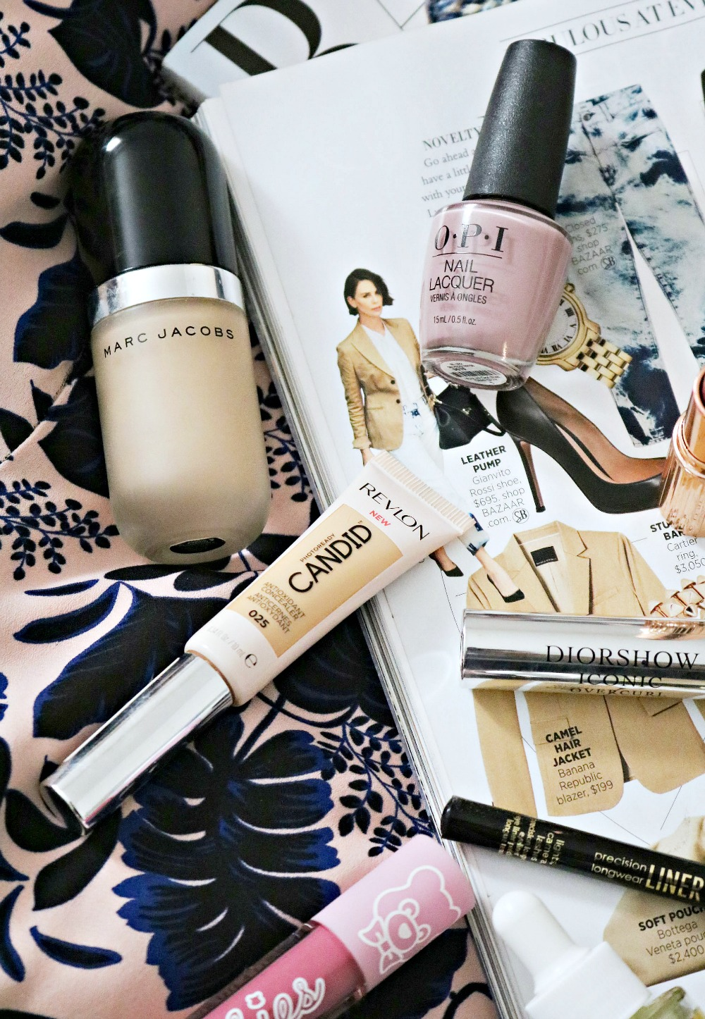 Early Fall Beauty Favorites I Marc Jacobs Foundation, Revlon Concealer and OPI Nail Polish #FallMakeup #Makeup #BeautyBlog #BeautyBlogger